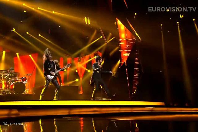 Eurovision 2013 - Adrian Lulgjuraj, Bledar Sejko