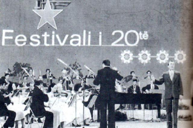 Festivali 20 i Këngës në Radio